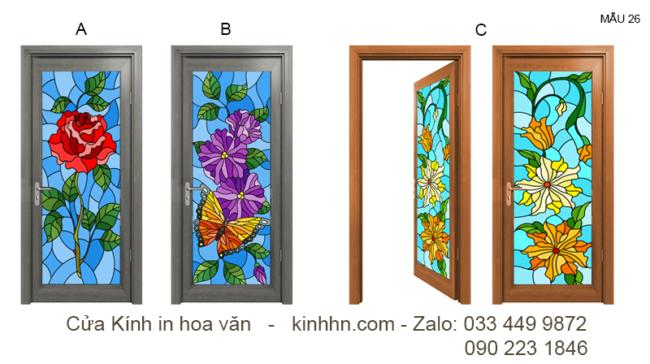 Mẫu cánh cửa 3D