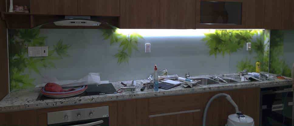 Bếp lá phong xanh